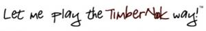 TimberNook tagline